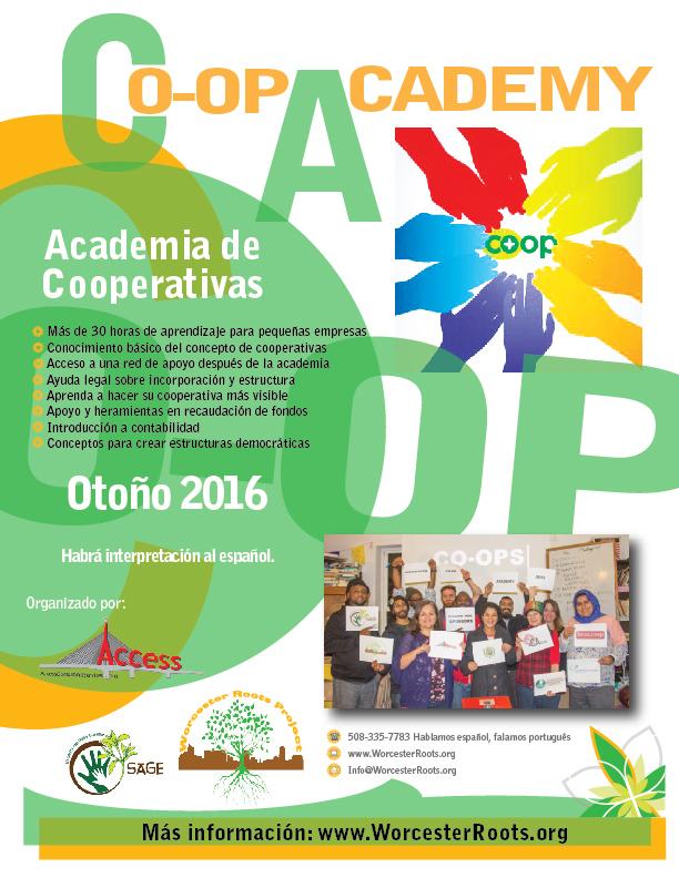 Co-op Academy Flyer ESP 2016-01